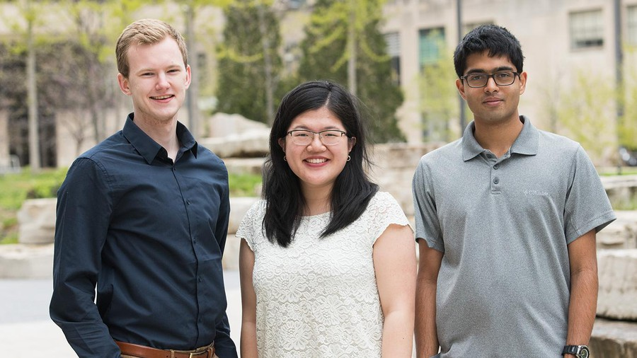 Three third-year students awarded Barry Goldwater Scholarships in 2019