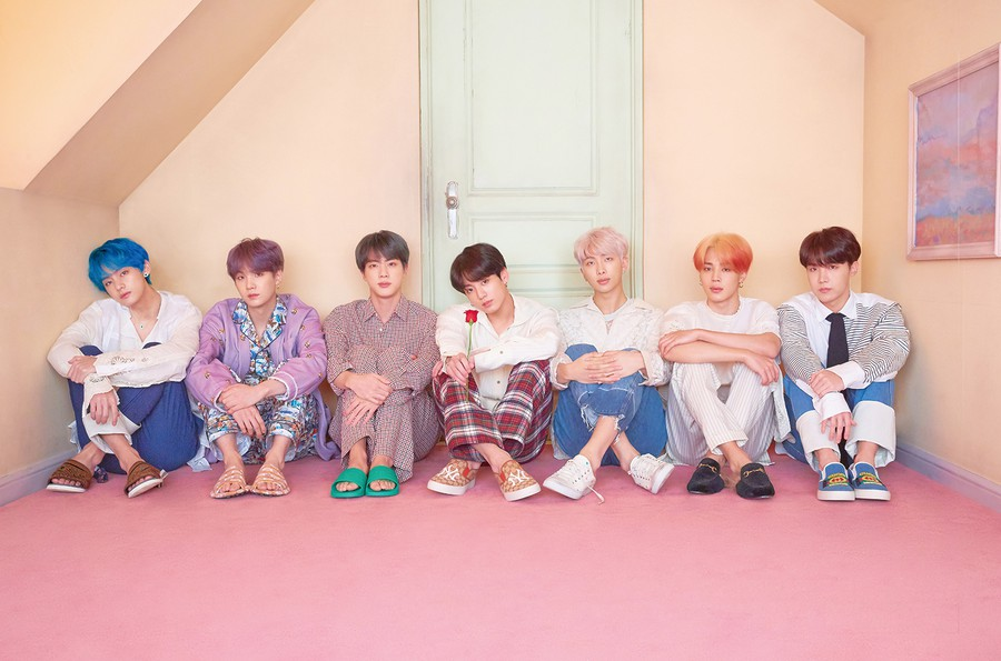From their humble beginnings, the members of BTS have reached global fame through not only their upbeat music, but also their powerful message of never giving up.