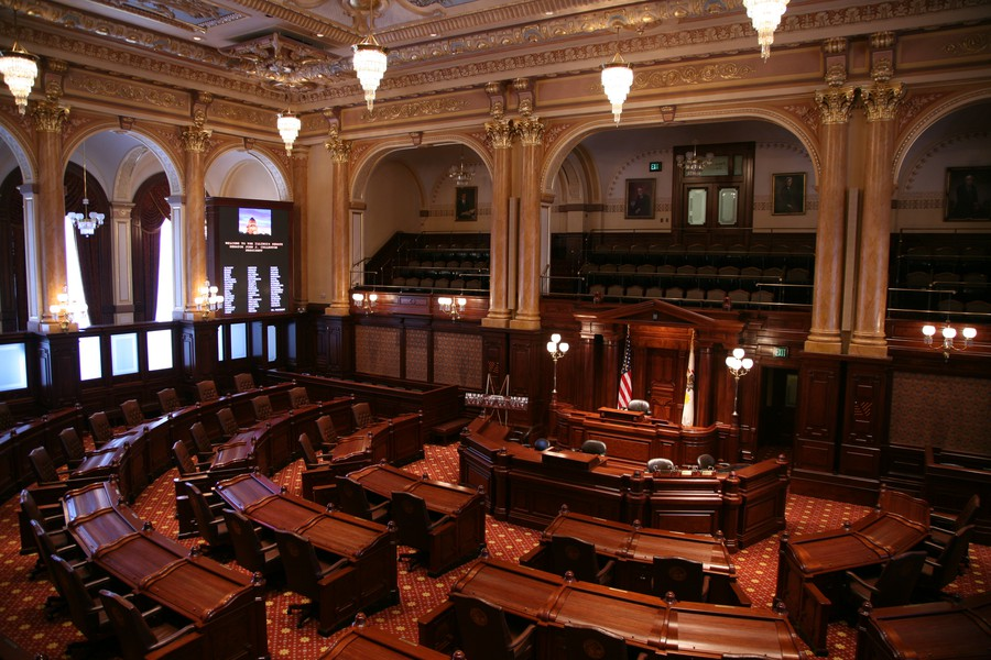 The Illinois State Senate.