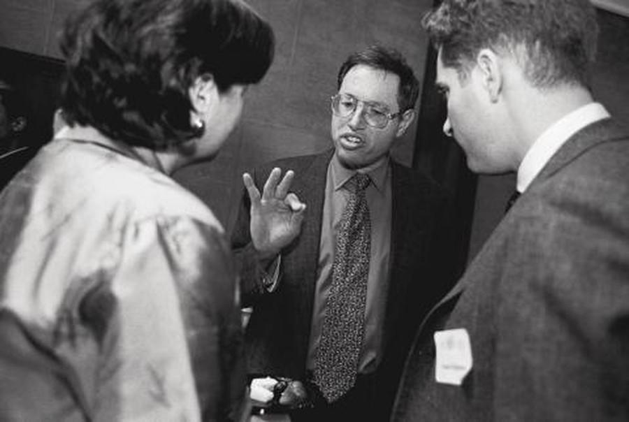 Richard Epstein, emeritus professor at the Law School, has been on UChicago faculty since 1972.