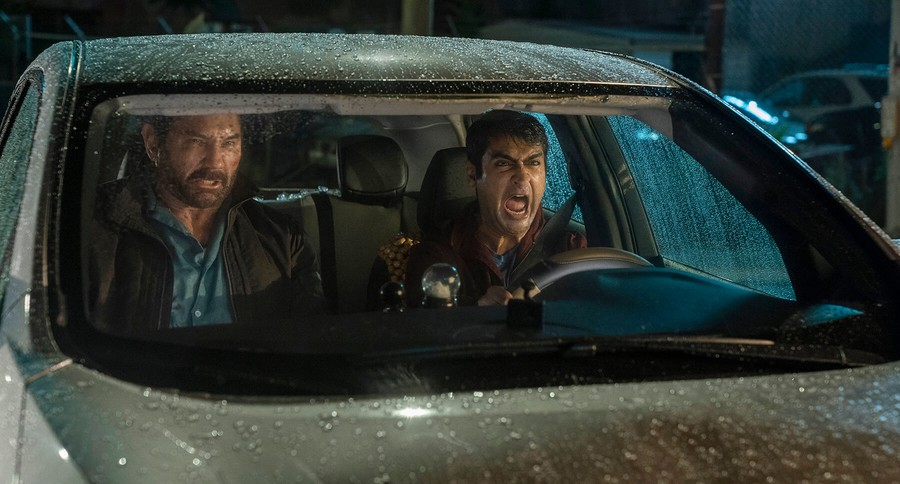 """Dave Bautista and Kumail Nanjiani have great comedic chemistry, in the same vein as Arnold Schwarzenegger and Danny DeVito in """"Twins"""", or Channing Tatum and Jonah Hill in """"21 Jump Street""""."""