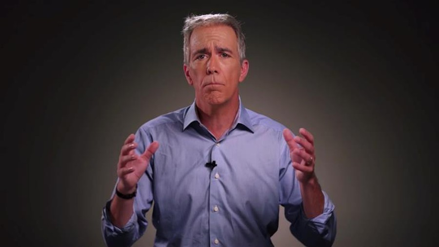 Former Illinois congressman Joe Walsh (M.P.P. '91) in a campaign video.