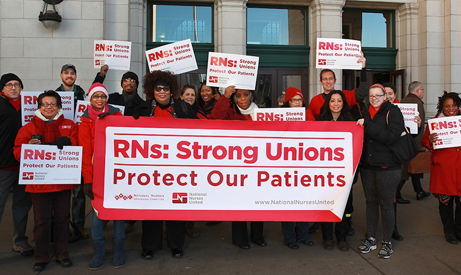 Members of National Nurses United