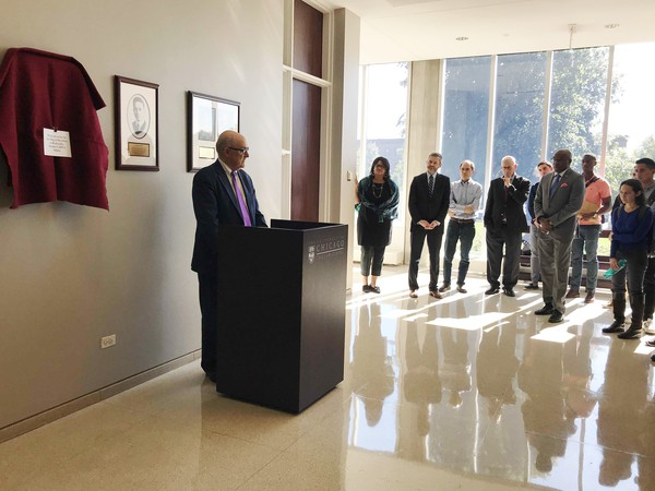 UChicago Law School's Black Law Students Association Unveils Plaque for Nelson Willis