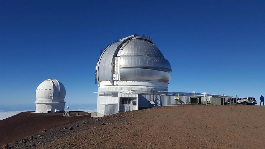 """The instrument """"MAROON-X"""" on Mauna Kea in Hawaii."""
