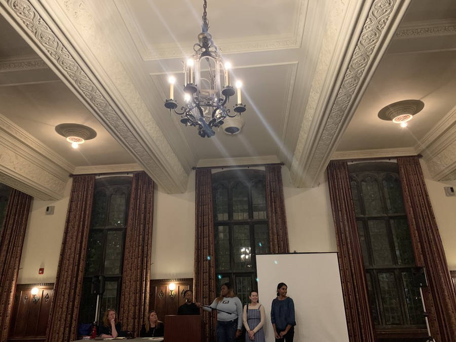 Photo of SG's Townhall: Sexual Misconduct, held on 10/30/19.