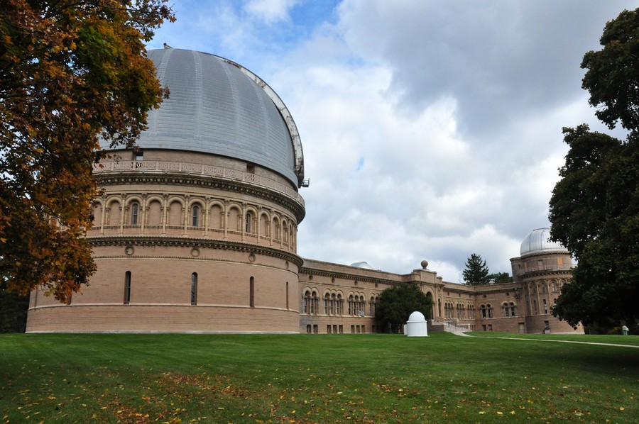 Yerkes Observatory in Williams Bay Village, Wisconsin.