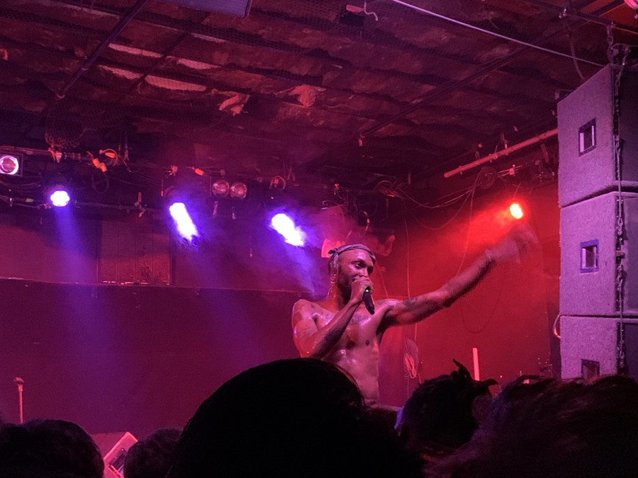 JPEGMAFIA played at Bottom Lounge on October 29th.