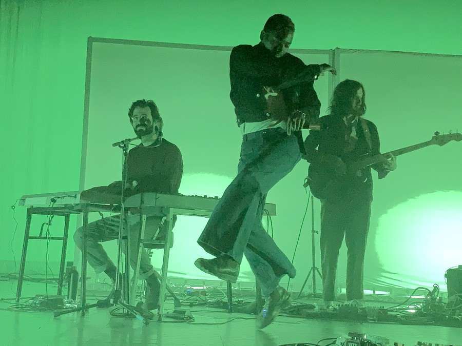 Toro y Moi played at Riviera Theater on the first of the month.