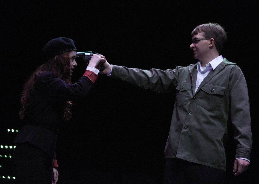 University Theater set their production of Shakespeare's classic story in the modern day