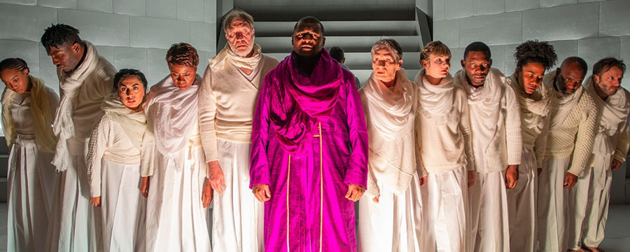 "The Court's ""Oedipus Rex"" offers a night of thrilling Greek tragedy and a teaser of things to come for the theater."
