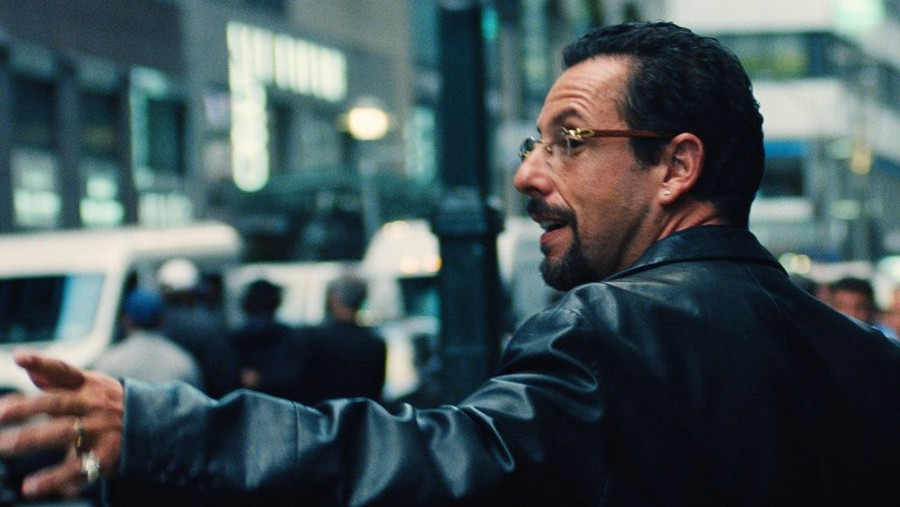 "Adam Sandler plays the endlessly striving, and struggling, Howard in ""Uncut Gems."""