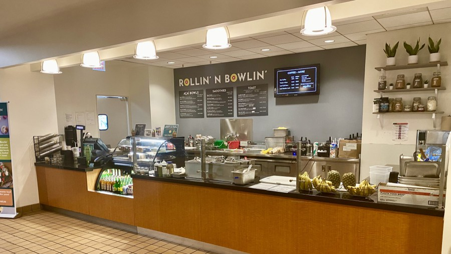The new açaí bowl cafe just opened in the Booth School of Business.
