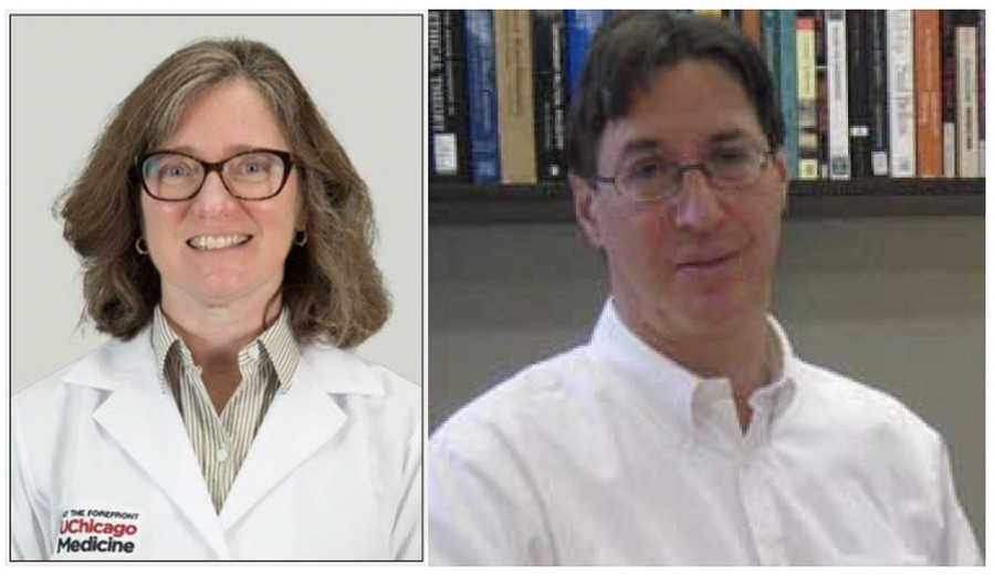 Professors Lucy Godley and Daniel Brudney