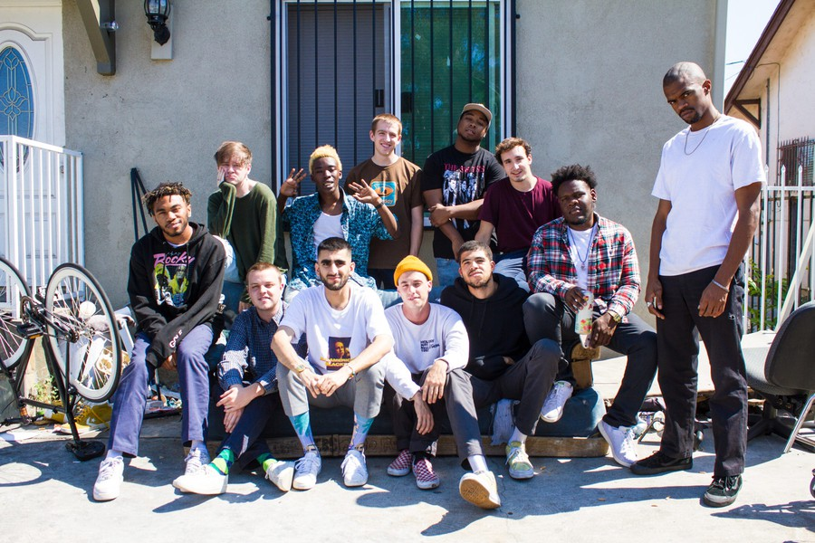 BROCKHAMPTON rock the Aragon Ballroom this past December.
