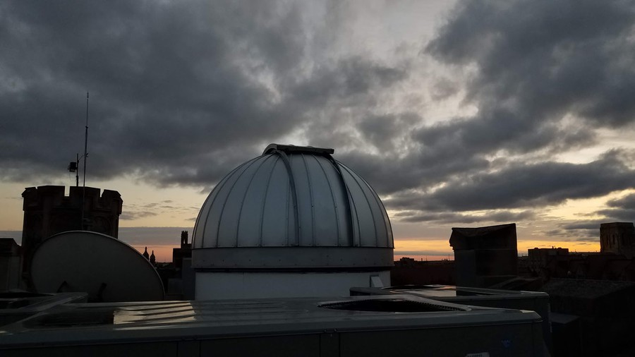 The Dome on the roof of Ryerson Laboratory.