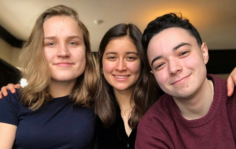 Erika Steiner, Beth Awano, and Max Grayzel-Ward began organizing UnCounted early this school year.