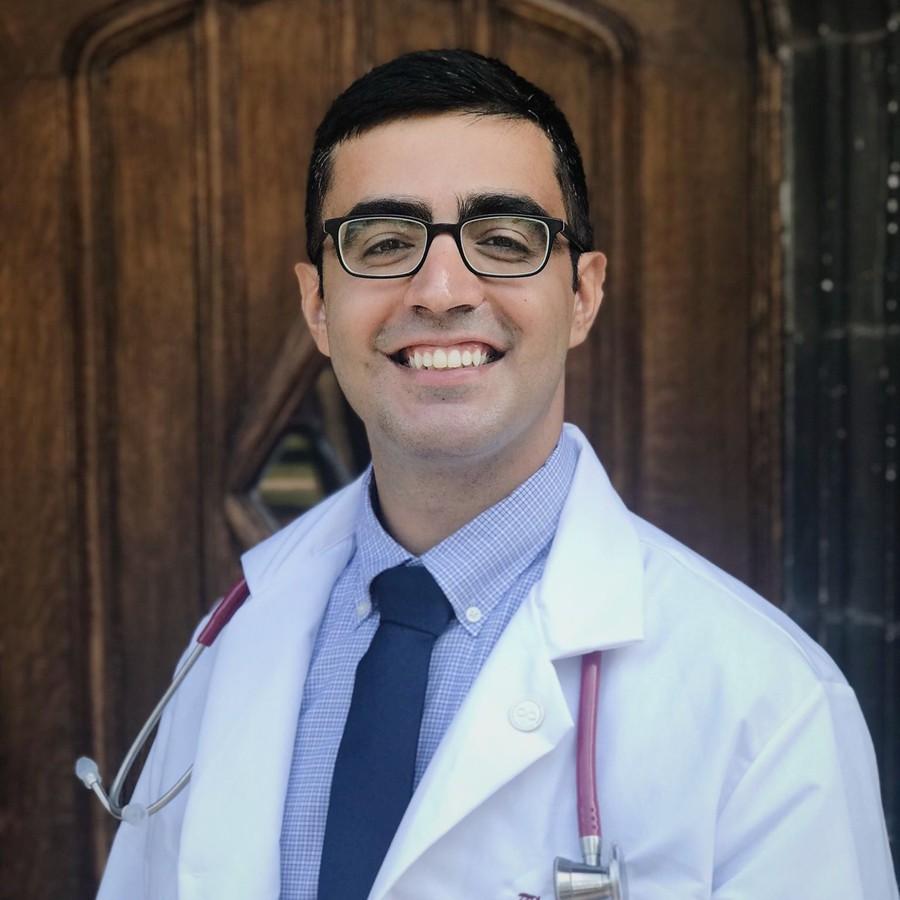UChicago medical student Hayder Ali.