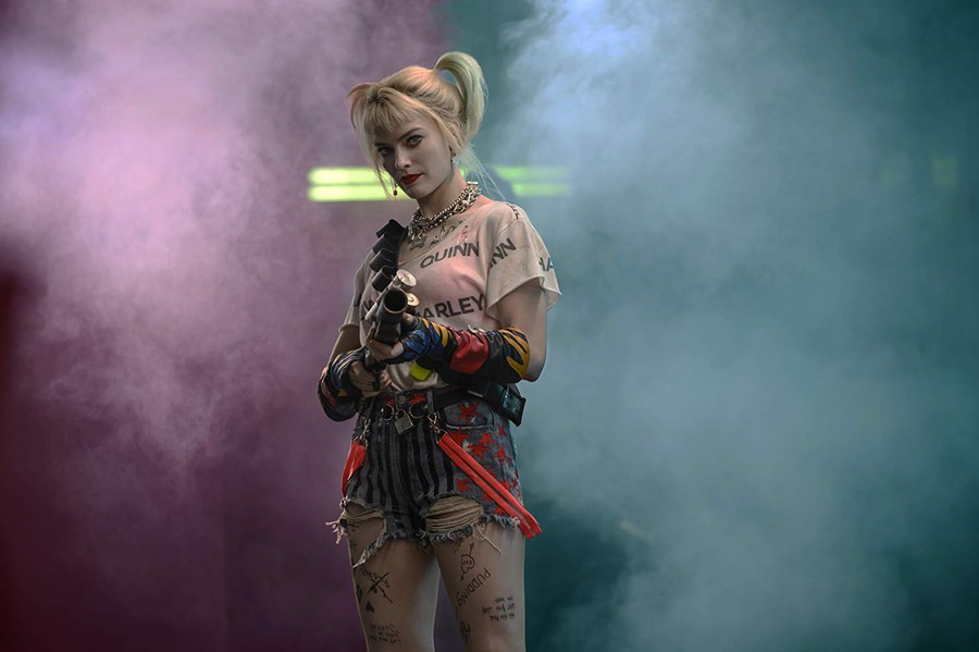 "Margot Robbie in ""Birds of Prey: And the Fantabulous Emancipation of Harley Quinn"""
