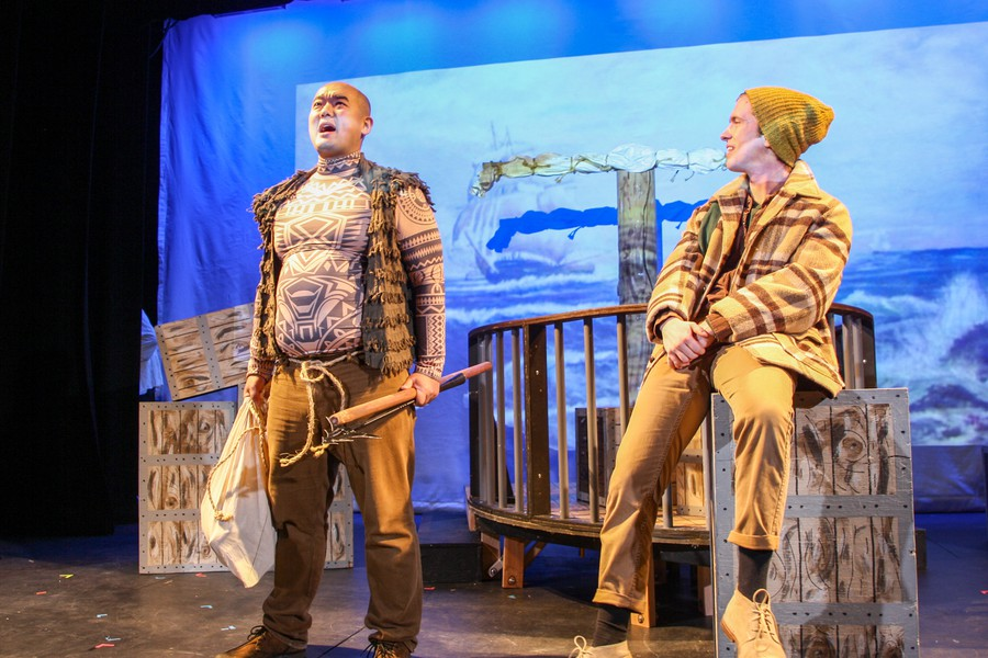 "Peter Ruger and Nate Hall in ""Moby Dick – A Musical,"" part of the 6th