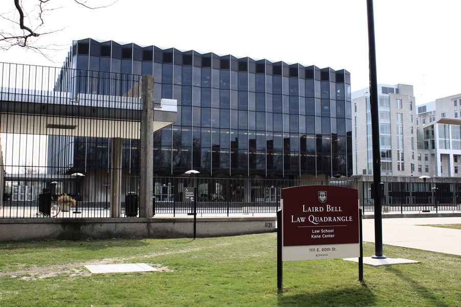 The Laird Bell Law Quadrangle at The University of Chicago Law School.