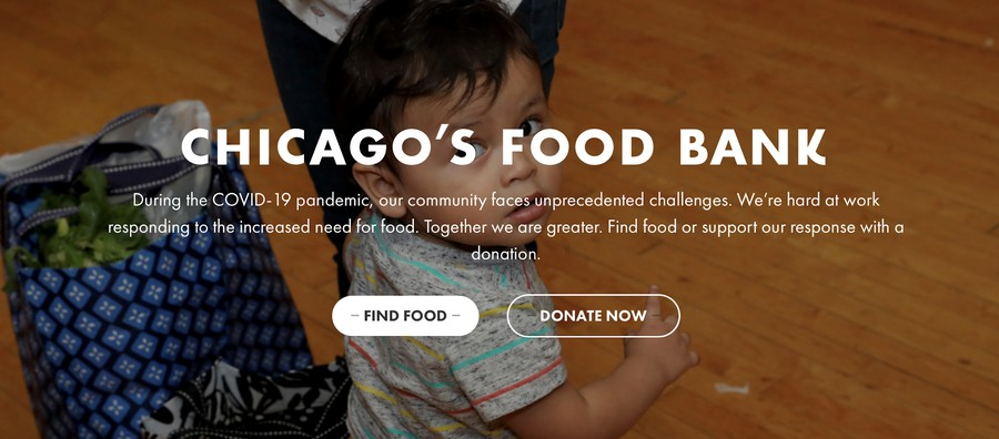 Chicago's Food Bank is still accepting donations and volunteers.