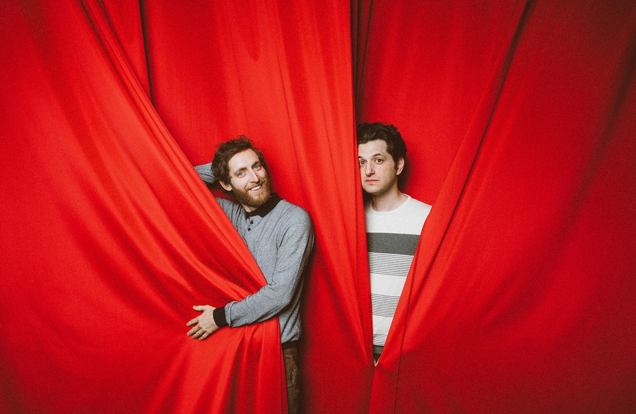 """Middleditch and Schwartz"" is a fresh breath of air in the world of improv, accidental slip-ups and all."