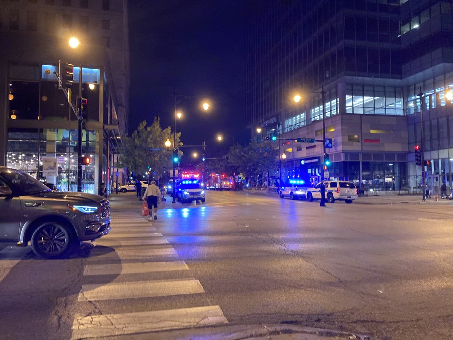 Emergency response to a shooting that occured near the corner of 53rd and S Lake Park Ave  on the evening of 9/24/2020.