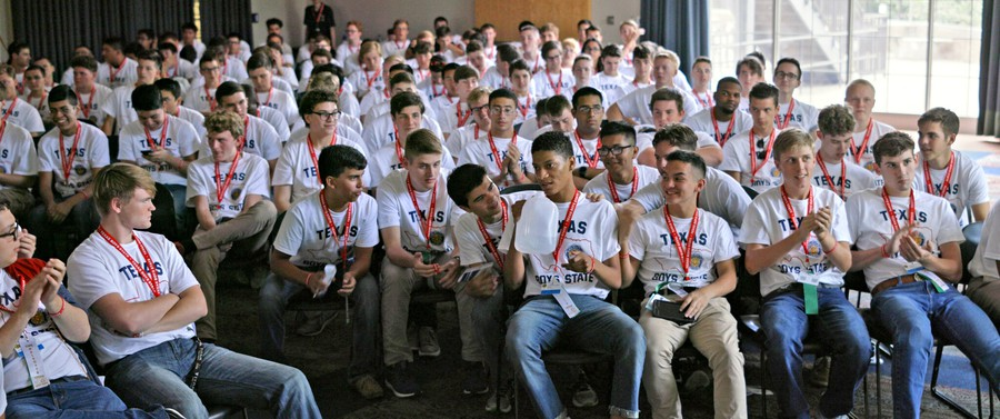 """Boys State,"" winner of the 2020 Sundance Film Festival's Grand Jury Prize for Documentary, follows four ambitious participants of the 2018 conference from different geographic, political, and demographic backgrounds."