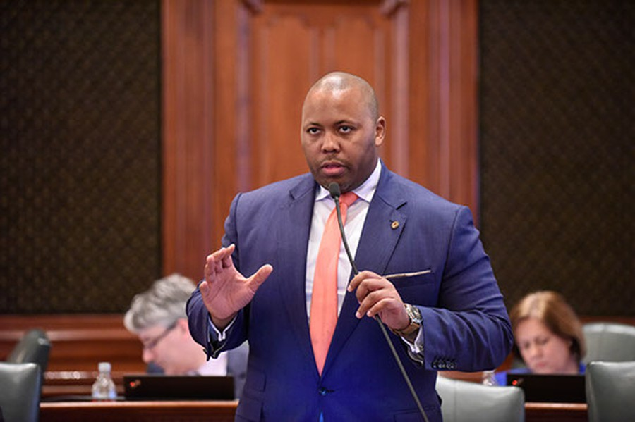Kam Buckner is a member of the Illinois House of Representatives from the 26th district.