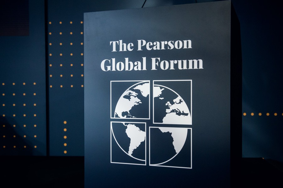 A photo from the 2019 Pearson Global Forum, by Stefan Hoederath.