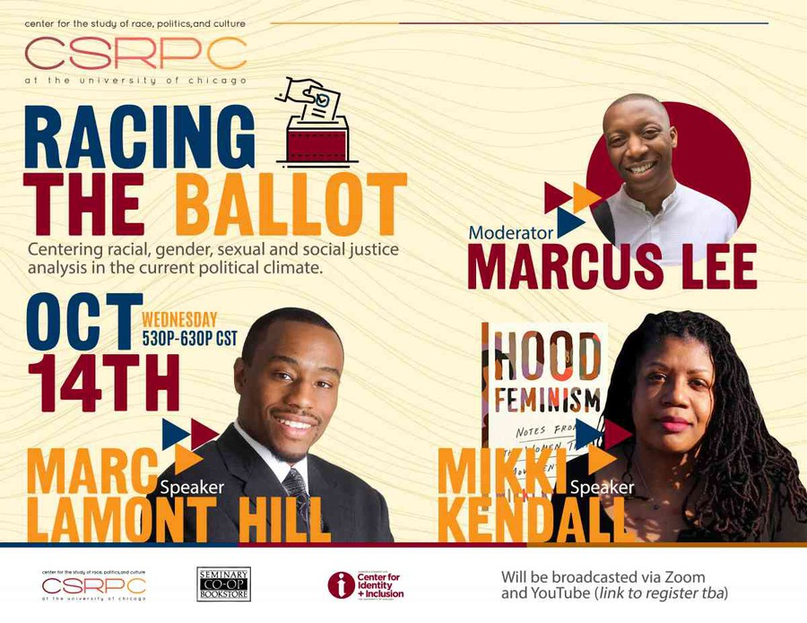 UChicago CRSPC hosted 'Racing the Ballot' on October 14th.