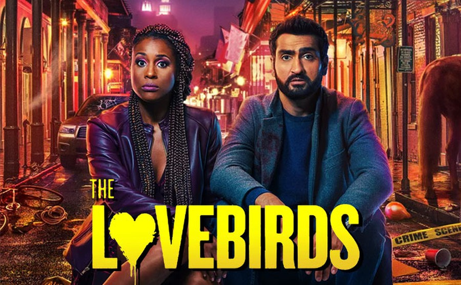 """In so many ways, """"The Lovebirds"""" strikes as the uninspired byproduct of some algorithm-generated streaming behemoth."""