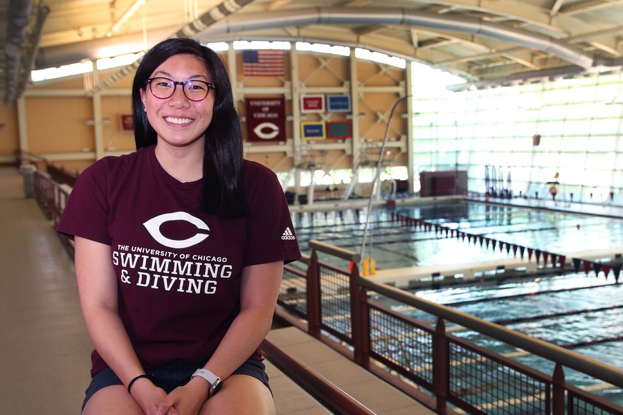Nadia Redza competed not only for UChicago, but internationally as well.