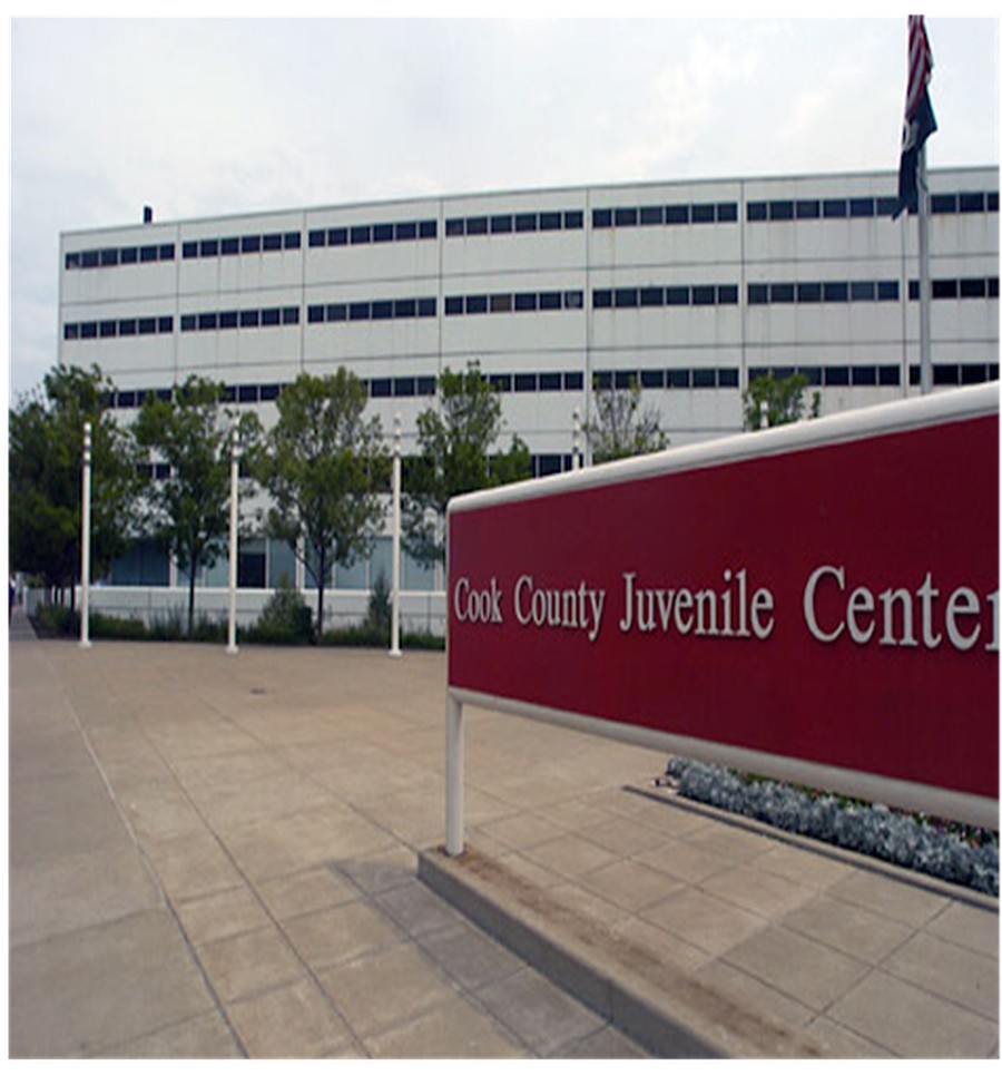 Cook County's Juvenile Temporary Detention Center, where children ages 10-21 are heeld before trial.