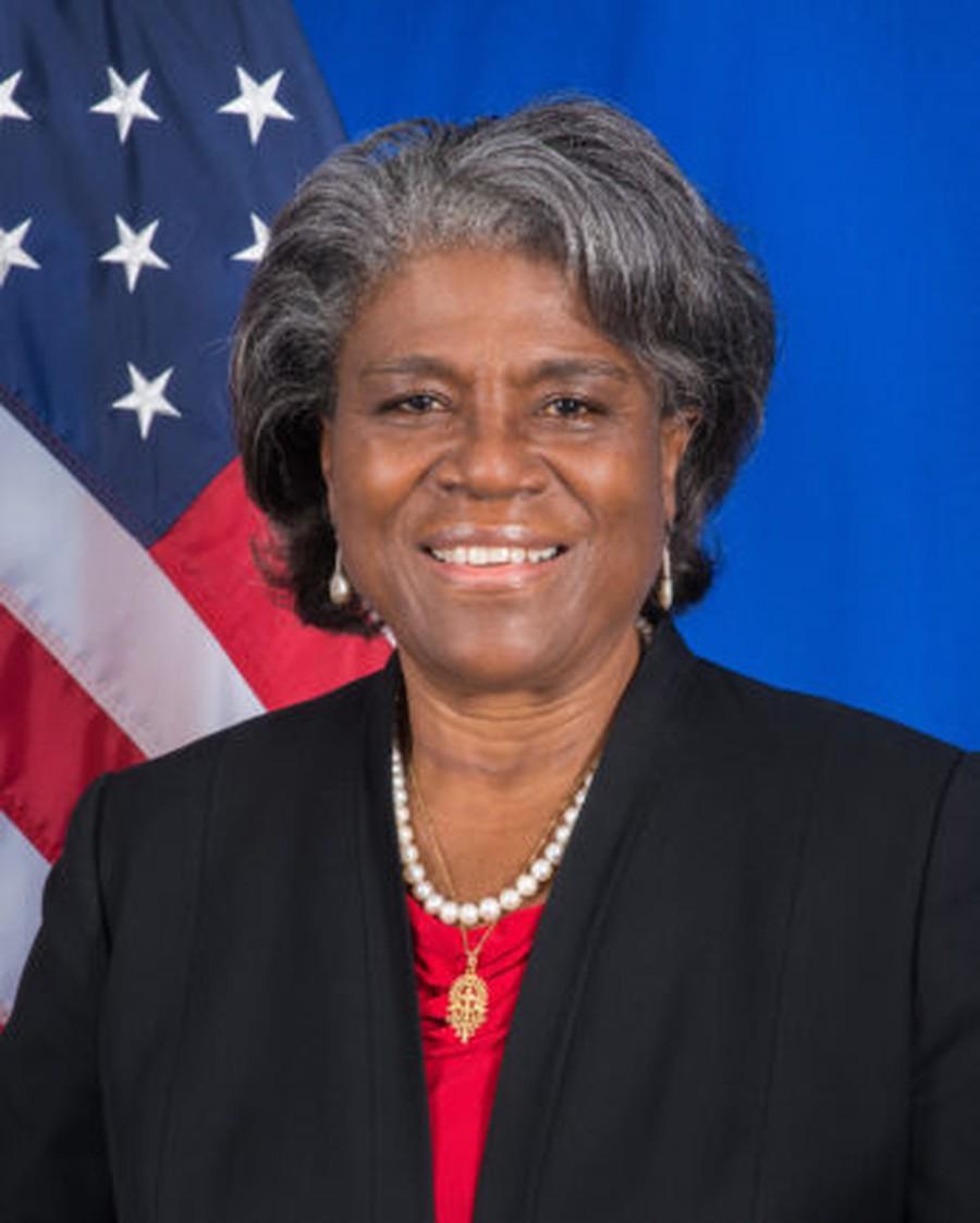 Ambassador Linda Thomas-Greenfield.