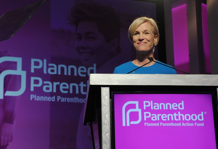 Cecile Richards onstage at the 2016 Planned Parenthood Action Fund Membership Event held during the Planned Parenthood National Convention at Washington Hilton in Washington on June 10, 2016.