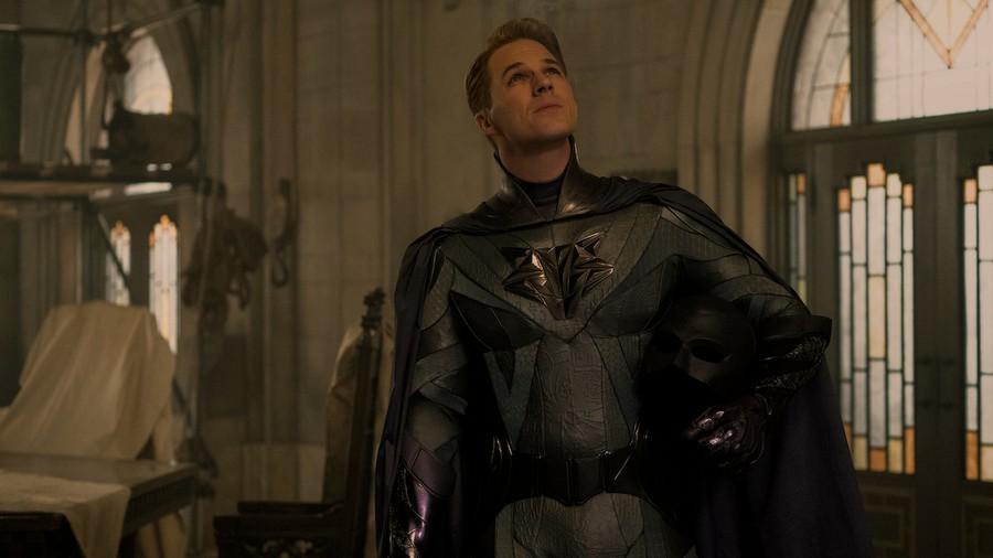 "Matt Lanter as George Hutchence in ""Jupiter's Legacy."""