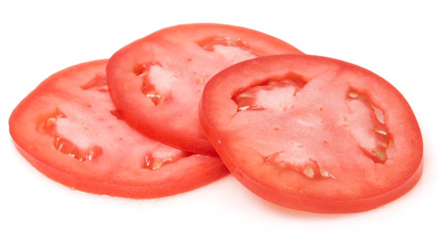 But what is a tomato slice?