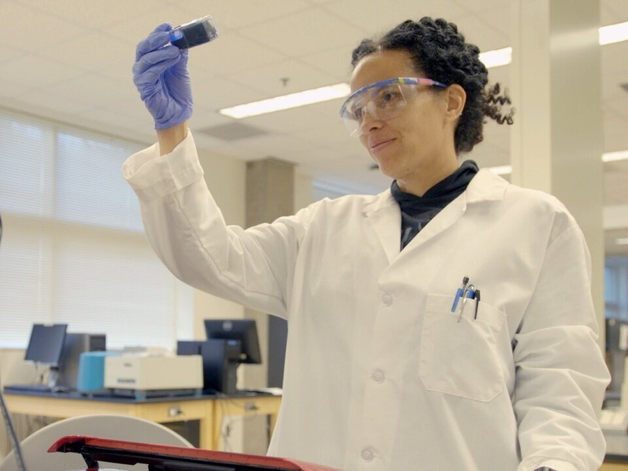 """Dr. Raychelle Burks, one of the three scientists featured in """"Picture a Scientist"""", responds to the challenges faced by a woman of color in analytical chemistry."""