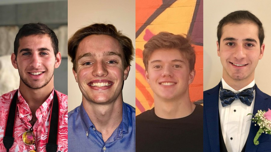 Second-years Jonathan Merril and Jack Ogle, third-year Henry Myers, and first-year Joshua Weisskopf are the cofounders of Pollinate.