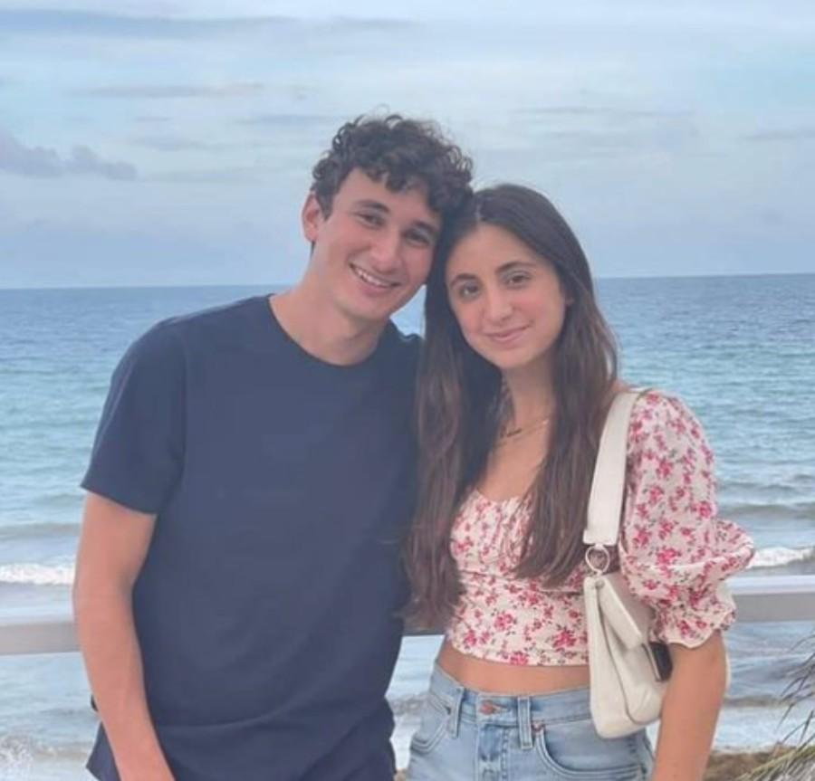 Rising fourth-year Ilan Naibryf and his girlfriend, Deborah Berezdivin.