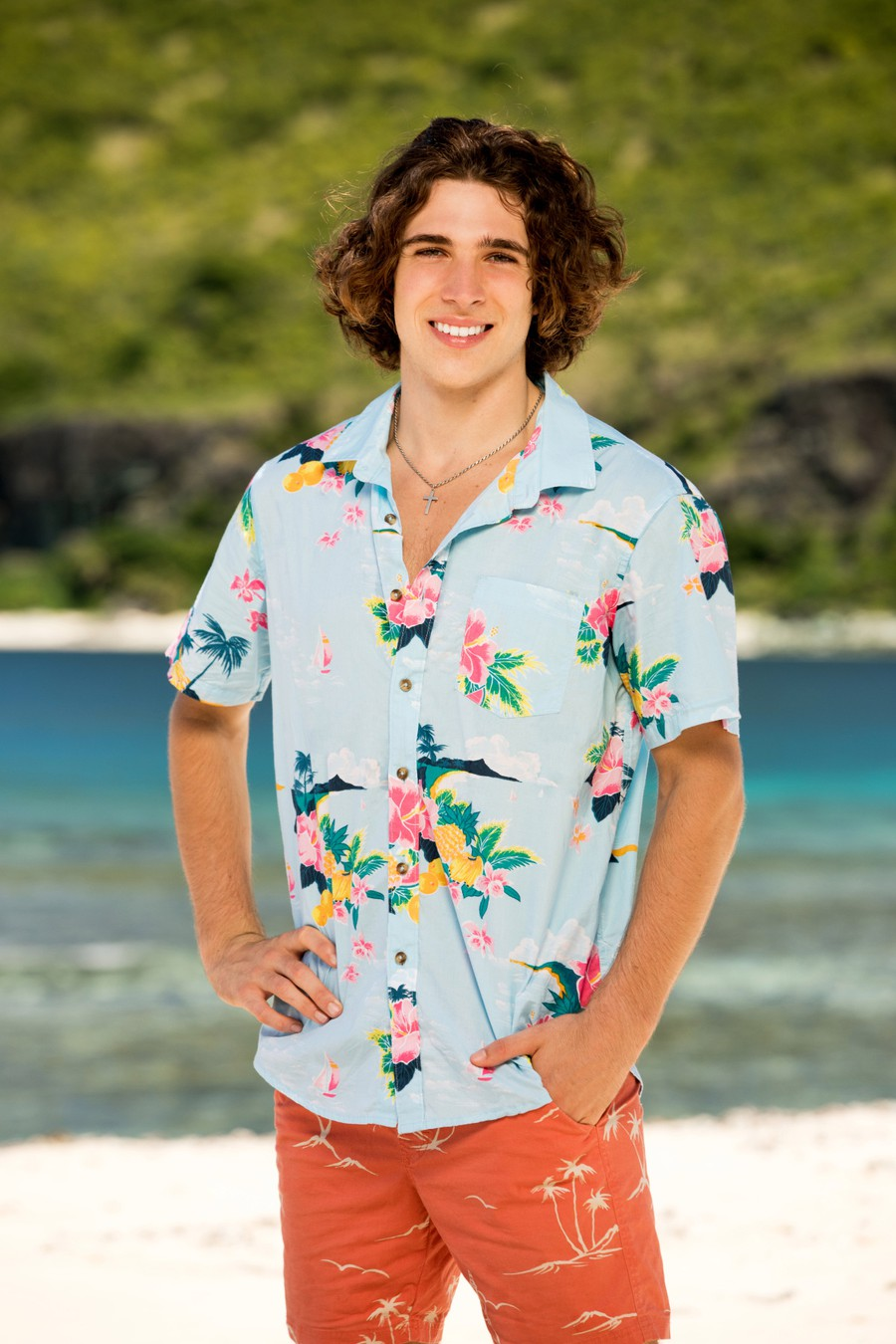 """Xander Hastings, """"Survivor"""" contestant and UChicago third year, aims to be a strong contestant on the show."""