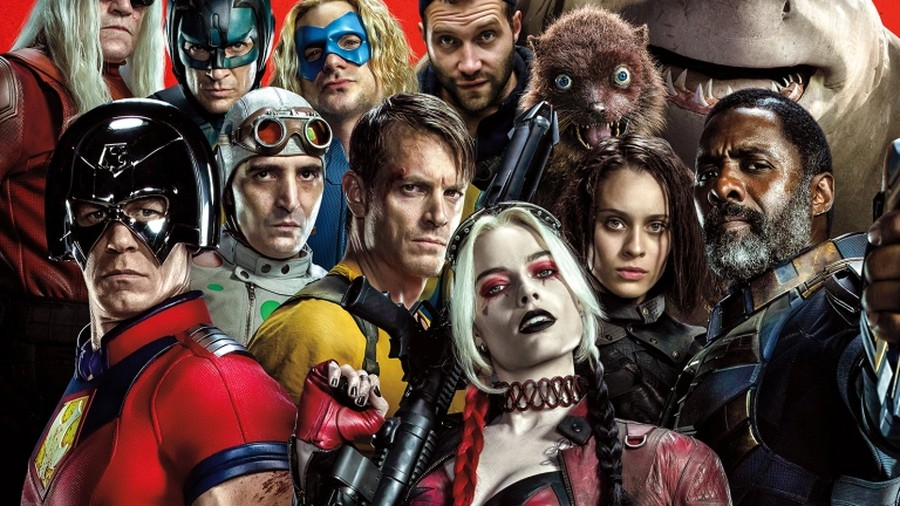 The cast of The Suicide Squad.